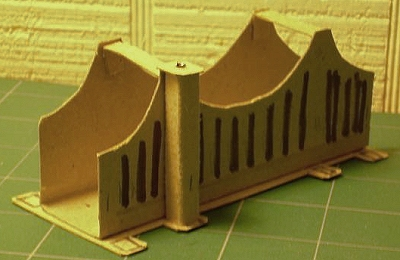 how to make a model train out of cardboard