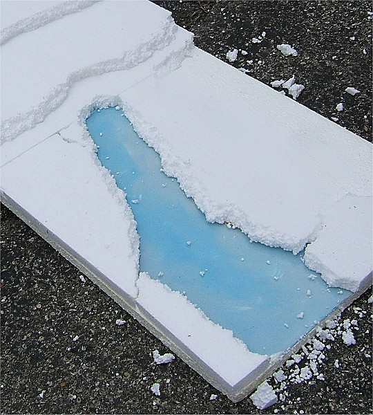 How To Make Paint Look Like Snow