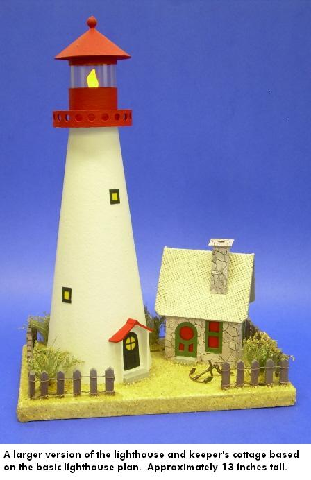 Building the Sandy Shores Lighthouse & Keeper's Cottage